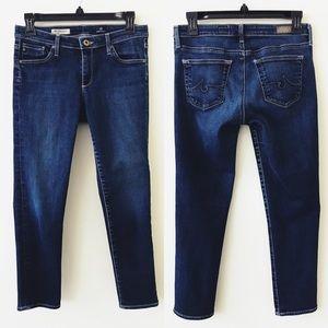 AG The Stilt Cigarette Crop Jeans